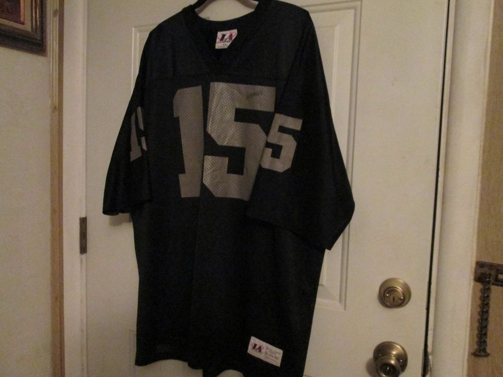 7eb8df0d7 NFL Los Angeles/Oakland Raiders Jeff Hostetler #15 VINTAGE Jersey, Men's  XXL #LogoAthletic #OaklandRaiders