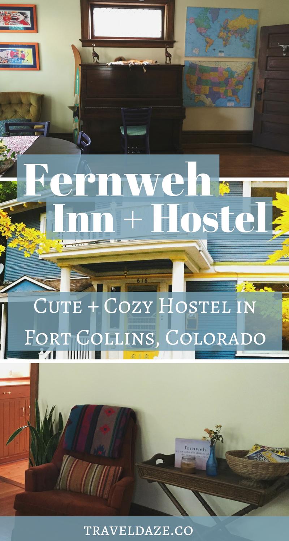fernweh inn hostel a cute cozy hostel in fort collins colorado