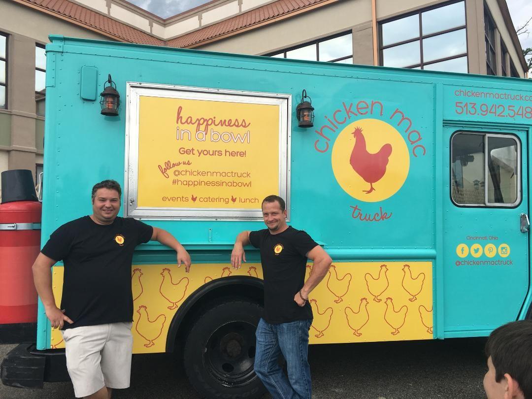 Chicken mac truck foodtruck cincinnati lunch truck