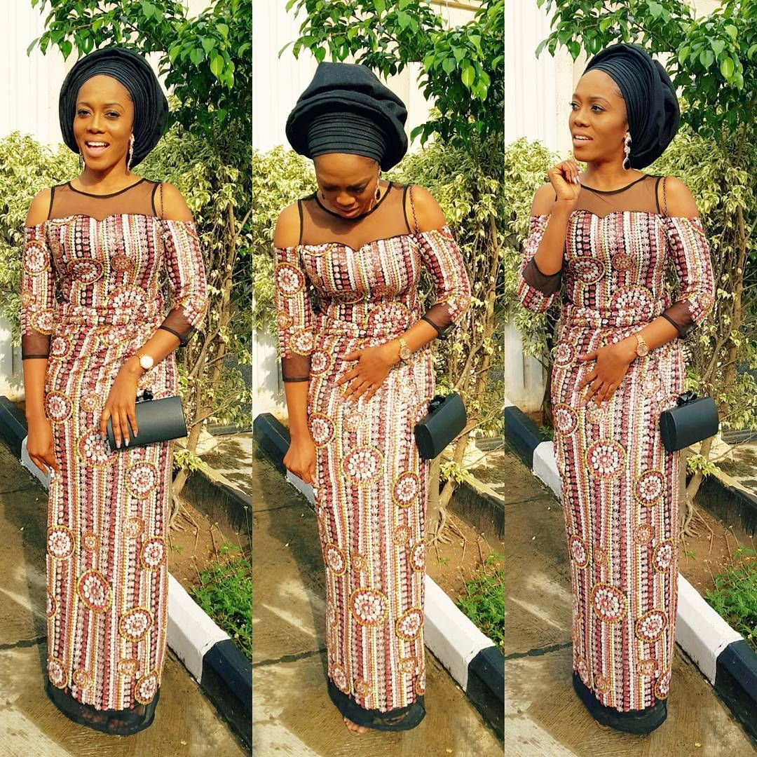 Image result for ankara velvet asoebi blend