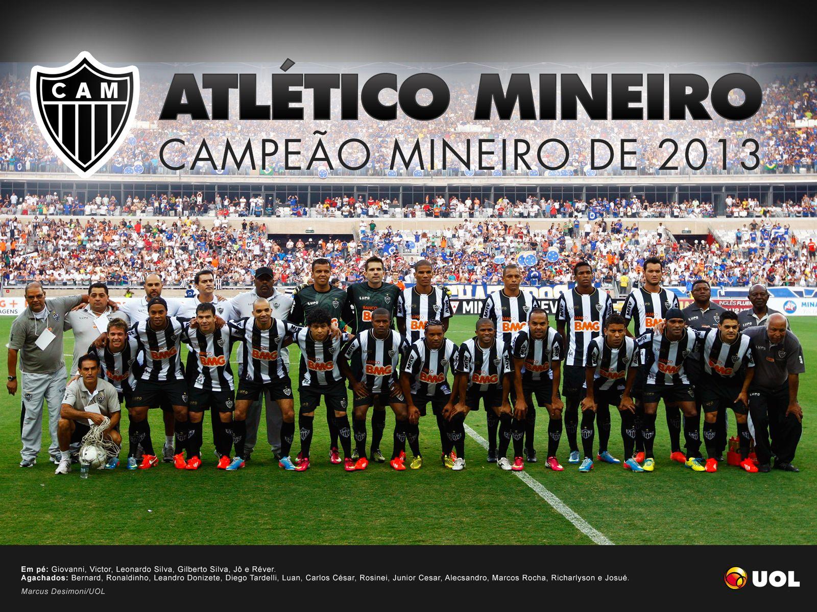 Bi Campeao Mineiro De 2012 13 Atletico Clube Atletico Mineiro Atletico Mg