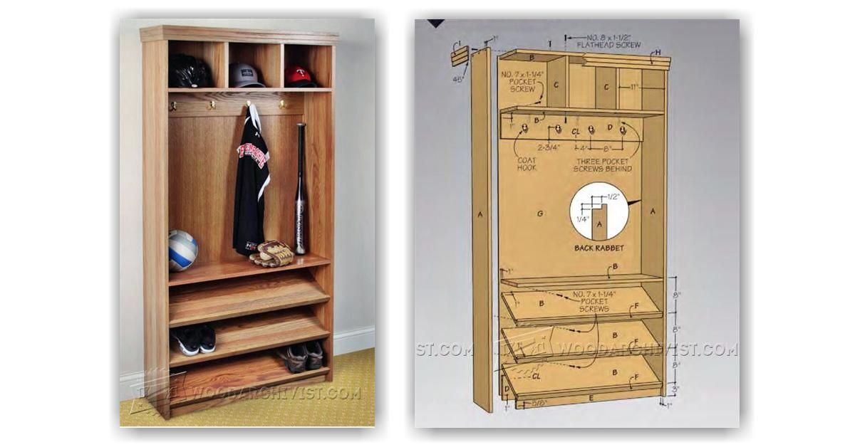 Hall Tree Plans Furniture Plans And Projects Woodarchivist Com