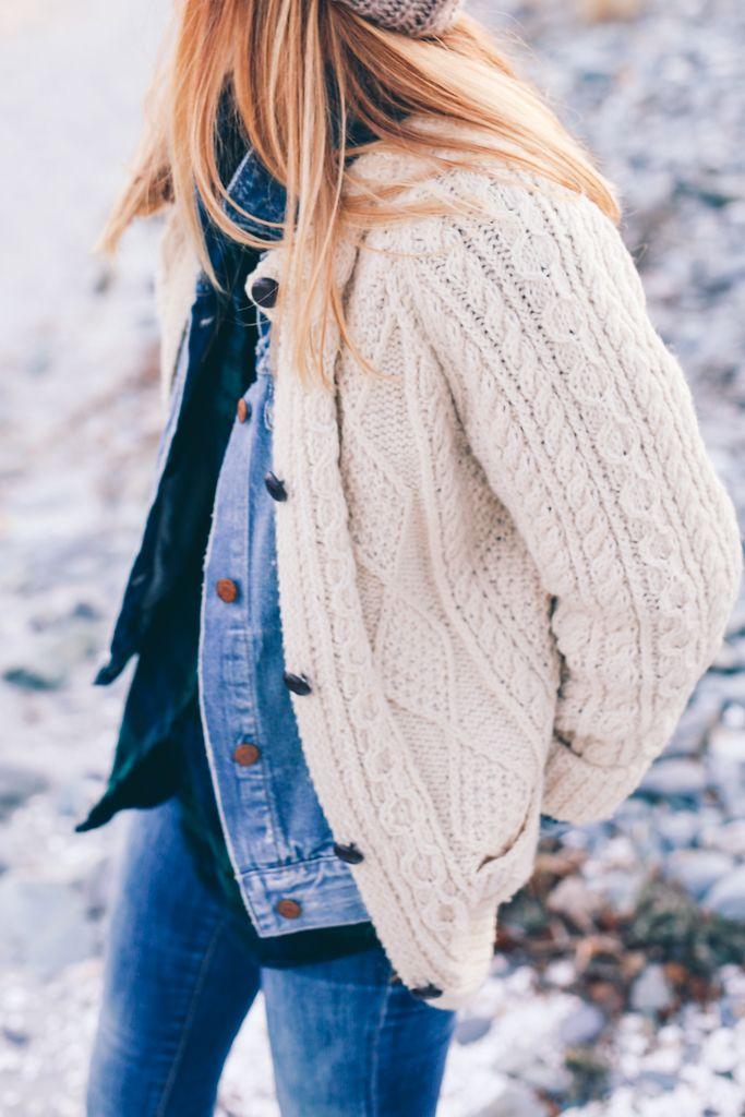 3f0a79647 How to style an Irish Knit Sweater by Jess Kirby of Prosecco   Plaid.