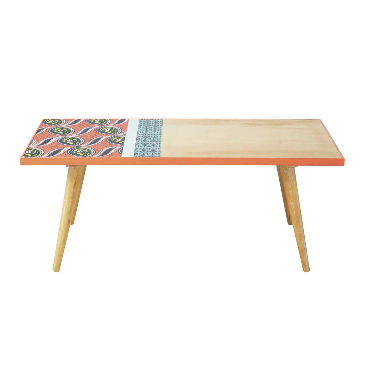 Table Basse Ronde En Manguier Sculpte Abenaki Table Basse Ronde Table Basse Table Basse Ronde Bois
