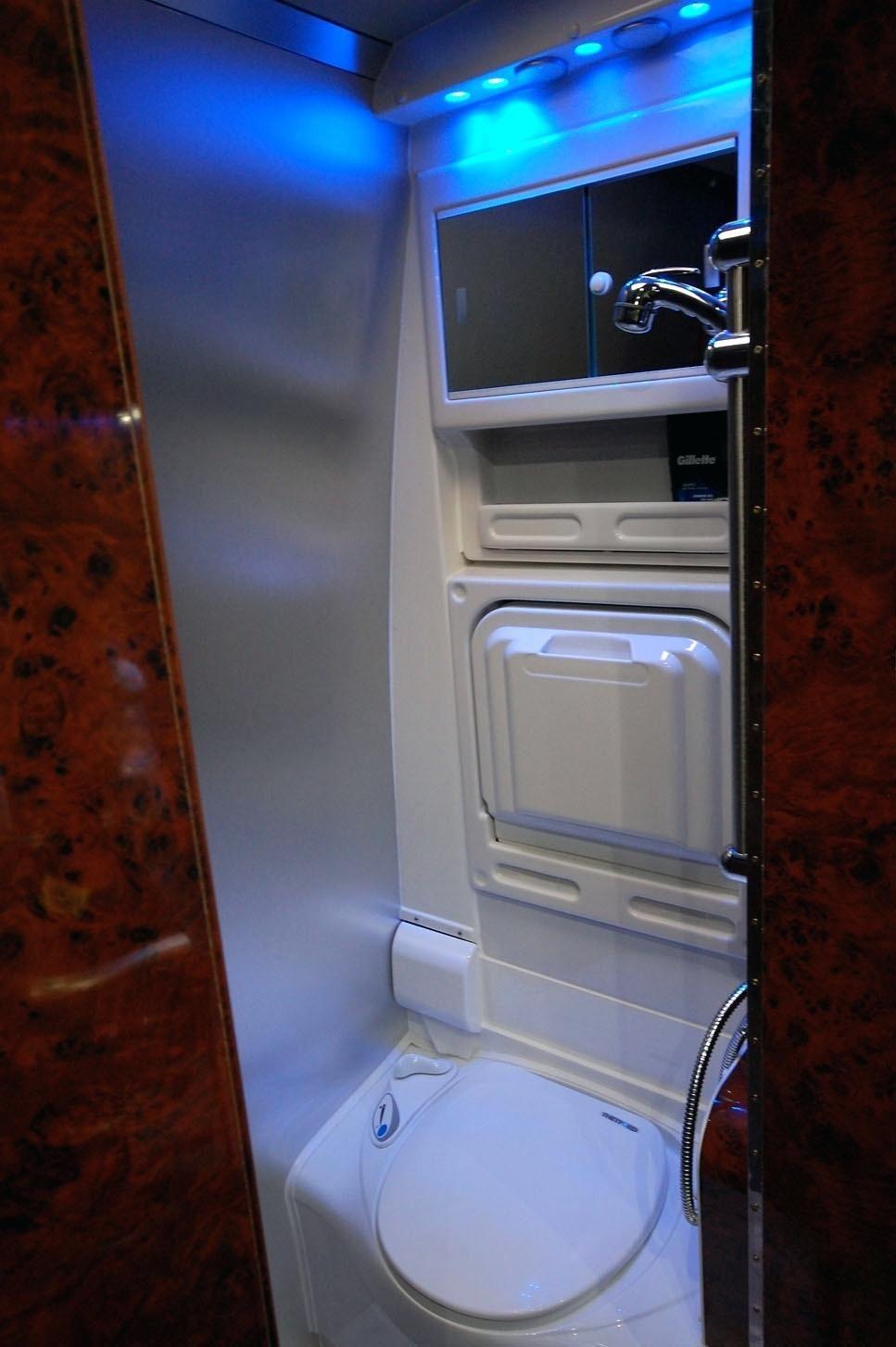 American Standard Fawn Beige Toilet Rv Shower Sink Combo