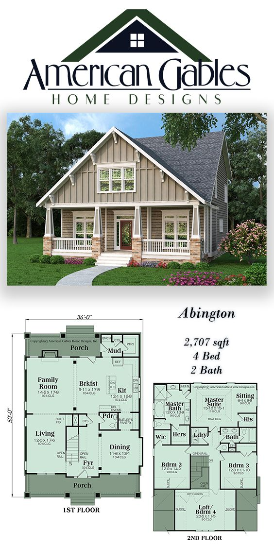 Narrow Lot Plan 2707 Square Feet 4 Bedrooms 2 Bathrooms Abington Narrow Lot House Plans Dream House Plans House Plans