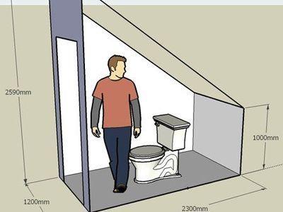 Animacion 3d Plano Casa De 2 Plantas Bano Bajo Escalera