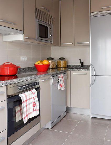 grandes ideas espacios chico utilisima - Buscar con Google | cocinas ...