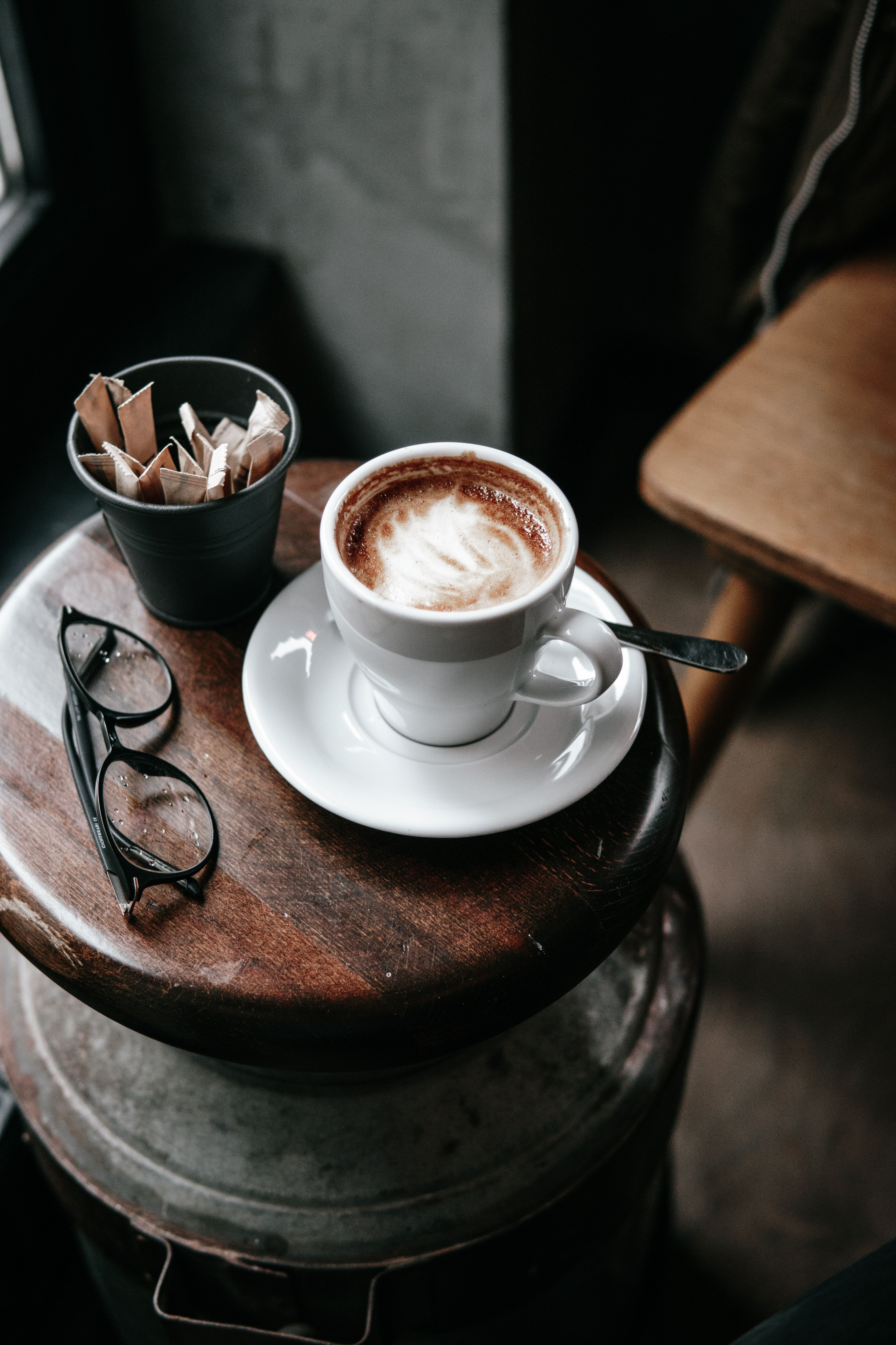 Wallpapers teacup, espresso, table, cortado, Coffee (avec ...