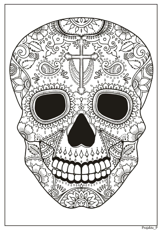Halloween Coloring Book For Adults Spooky Halloween Printable Kleurplaten