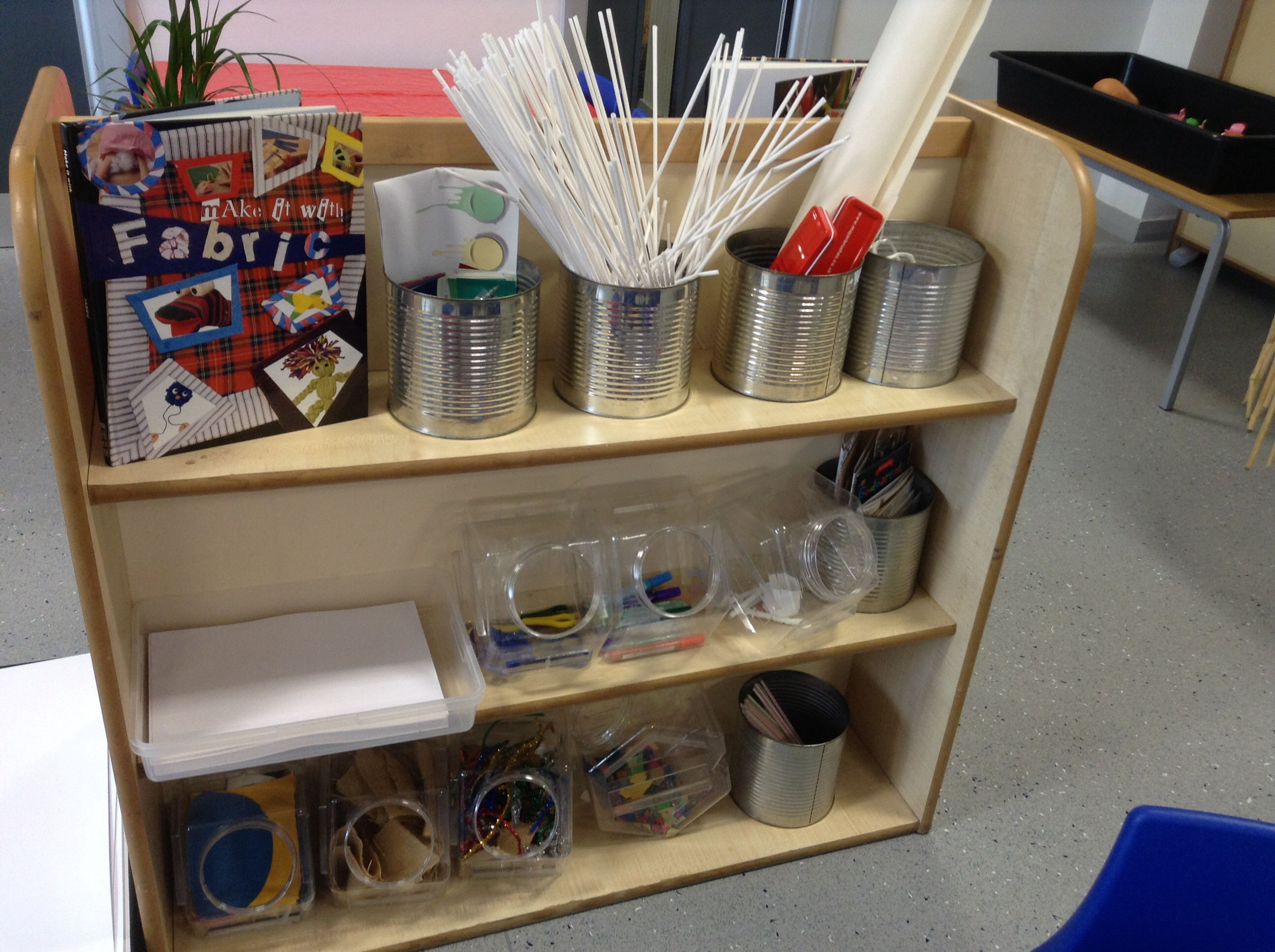 creative eyfs junk modelling early years area provision areas continuous classroom items children shelf preschool choose own organisation class reception
