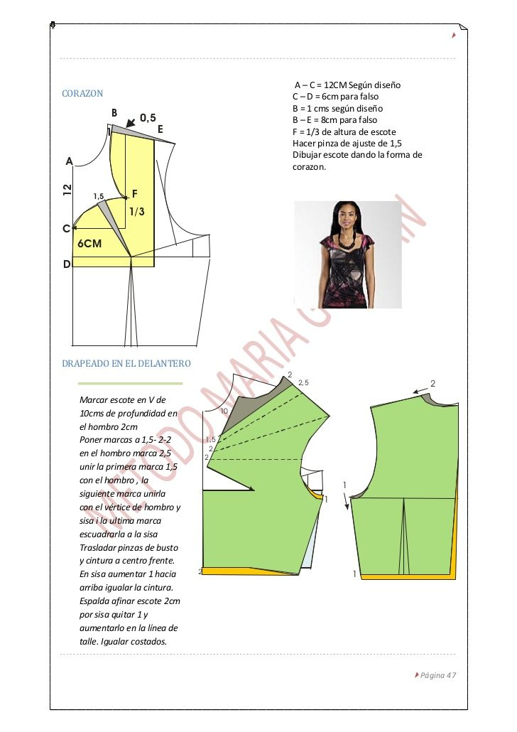 Pin de marisol lopez en patrones faciles | Pinterest | Patronaje ...