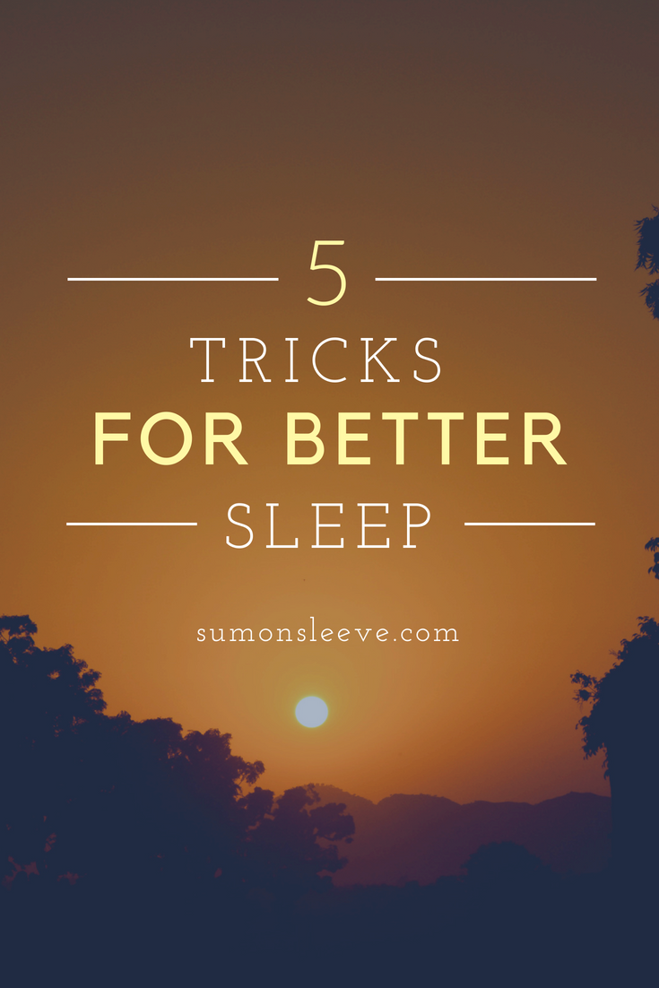 Trying to get better sleep? Try these 5 tricks to get a