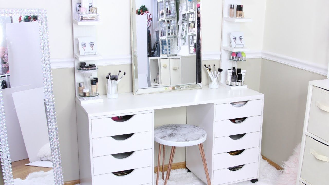 Ikea Makeup Tafel : Ikea alex desk dupe diy under  things to make in