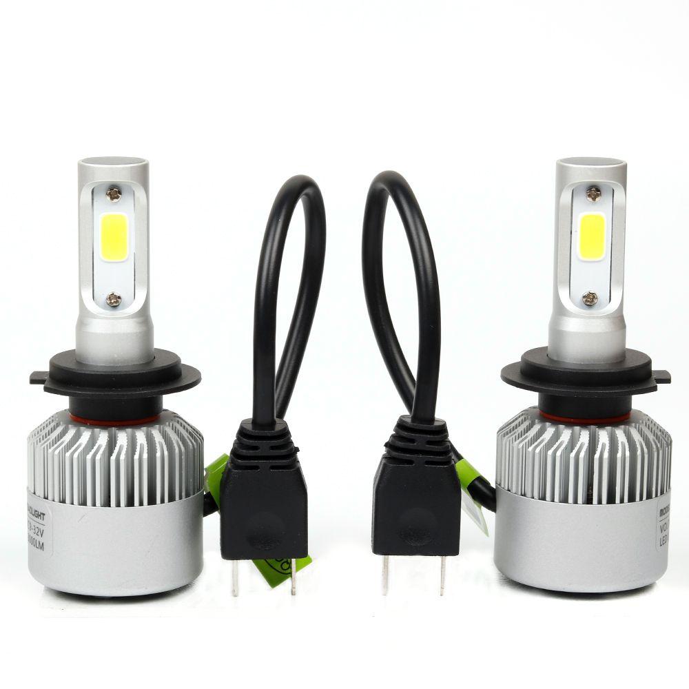 Car styling Auto H4 led bulb H7 Lighting Car LED 12V Lights H4 H7 ...