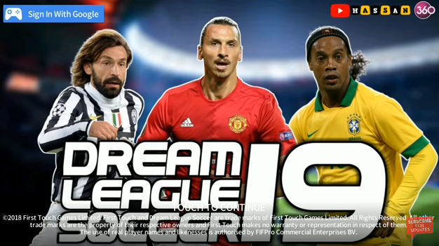 Download Dream League Soccer DLS 19 mod apk Beta v5 064 Legend