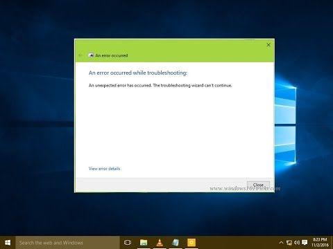 Windows 10 comes with lots of built-in troubleshooting tools which