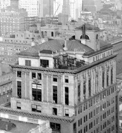 Half Pudding Sauce Apartment Of Robert M Catts On Top The Park Lexington Building