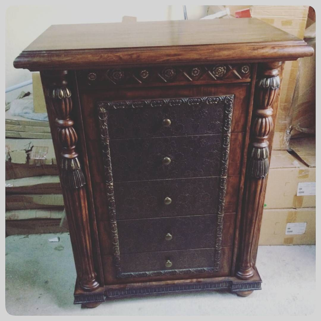 For Sale Drawer Cabinet Classic Size 90x50x115 Wood Good Condation Price 30 Bd للبيع مكتبة ادراج خشب كلاسك مقاس 90x Antique Dresser Antiques Decor