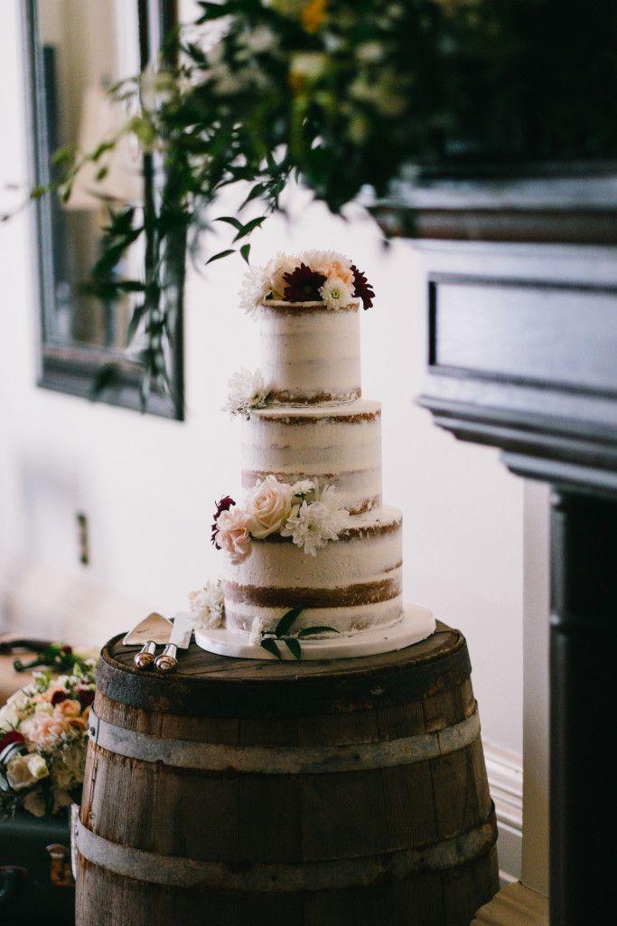Bespoke The Wedding Event Irish Pub Wedding Naked Cake
