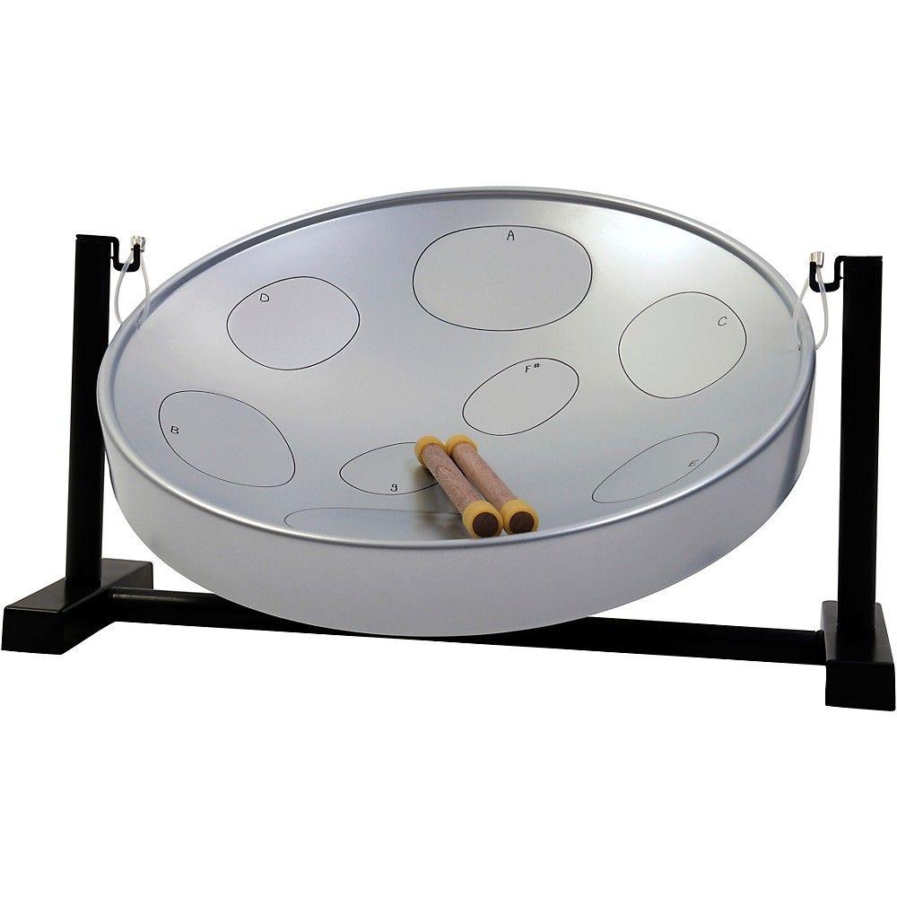Panyard Jumbie Jam Table Top Steel Drum Kit Silver In 2019 Steel Drum Drum Kits Drum Table
