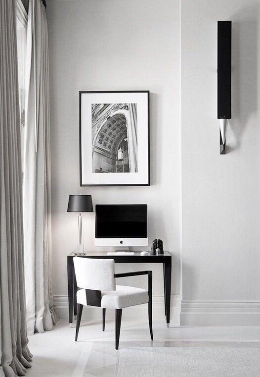 Interior Design   Workspace inspiration. Home office design. Interior