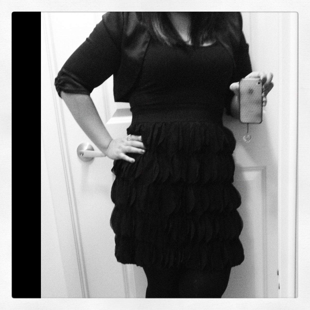 Little Frilly Black Dress