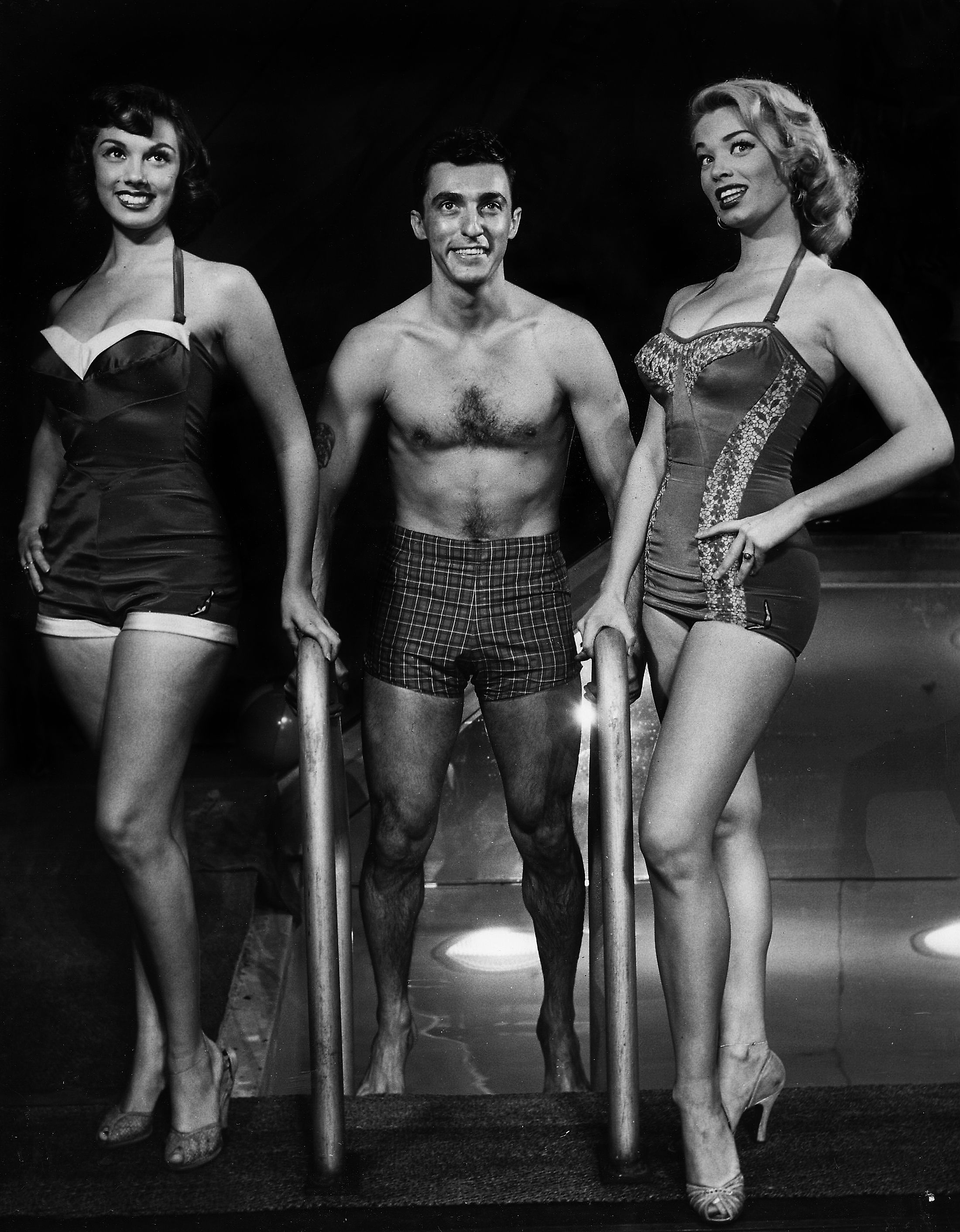 Gus Giordano In The Musical Wish You Were Here On Broadway Wonder Woman Dance Jazz Dance