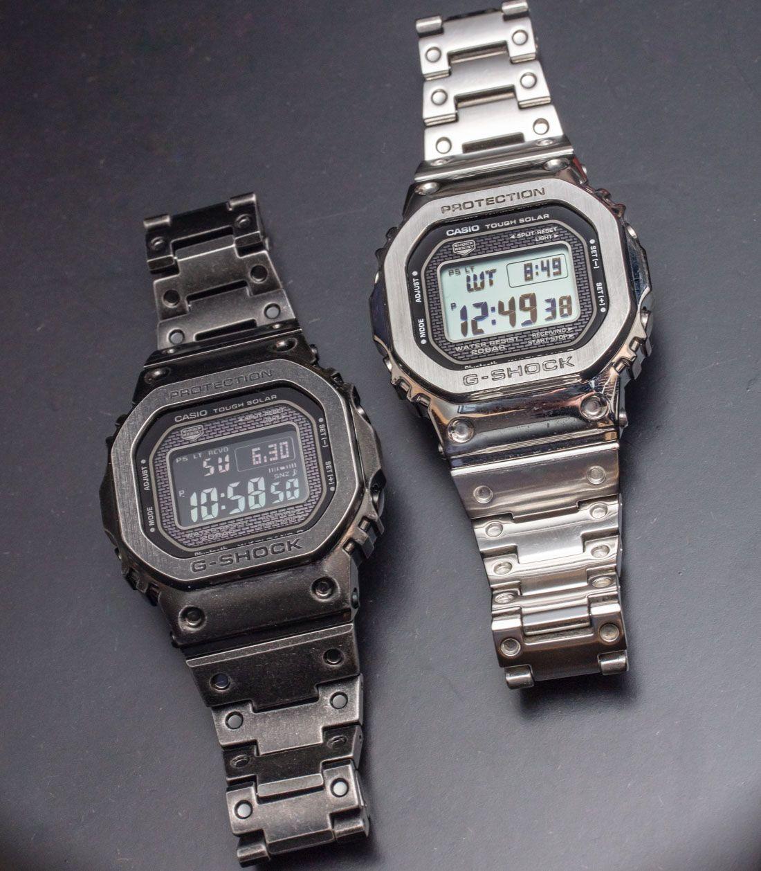 Casio G Shock GMW B5000V Aged IP Full Metal Watch Hands On