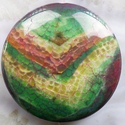 G0063303 Beautiful Fire Agate round Pendant bead