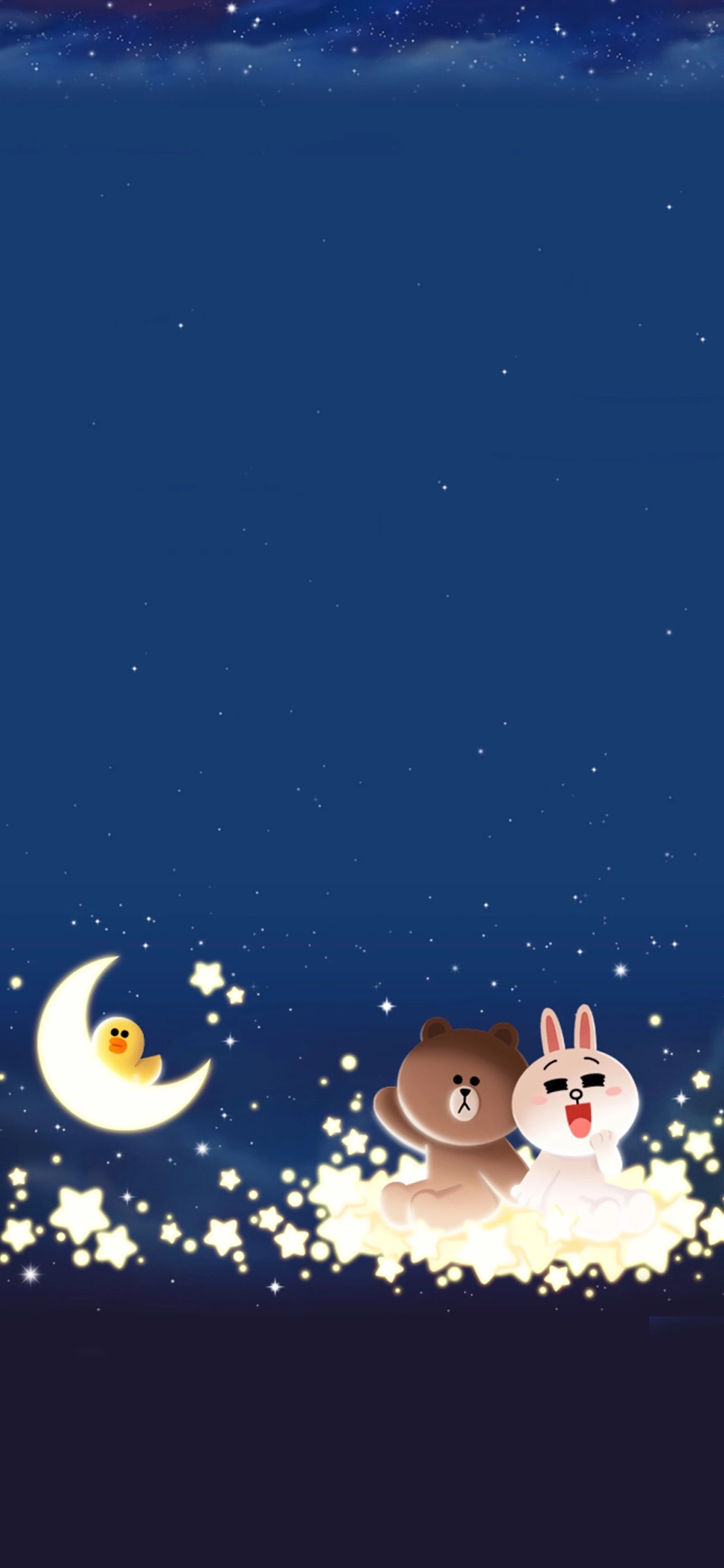 Pin Oleh Nadia Siew Di Wallpaper Line Beruang Coklat Wallpaper Lucu Kartun