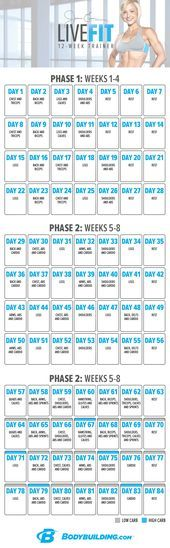Jamie Eason's LiveFit Trainer – Your 12-Week Transformation Plan! As a fitness p…
