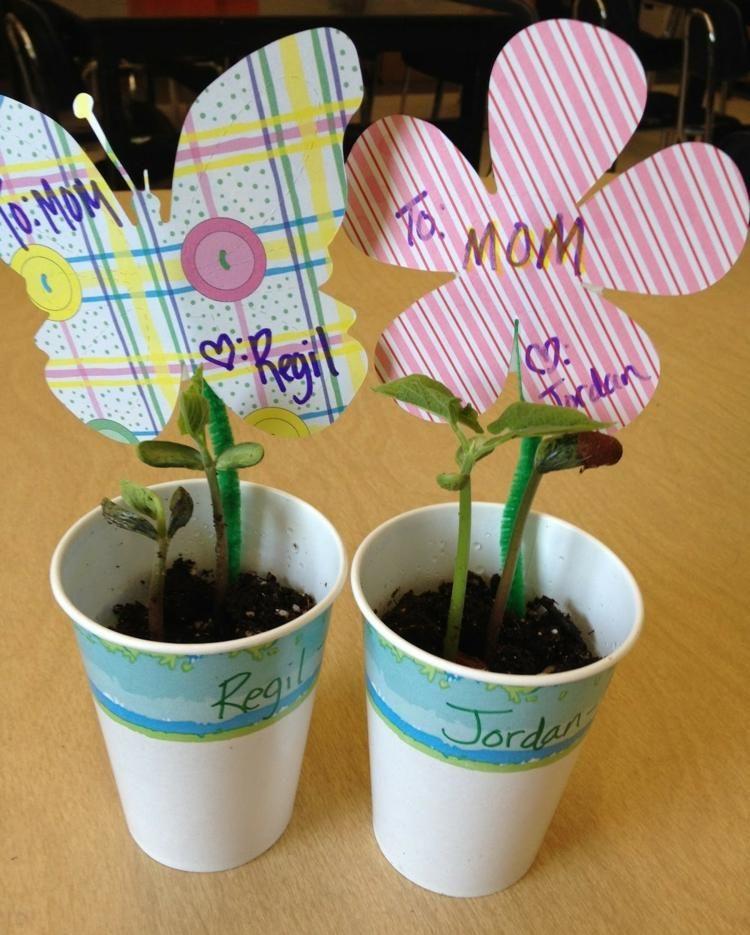 Muttertagsgeschenk Zum Basteln In Kindergarten Idee Mit