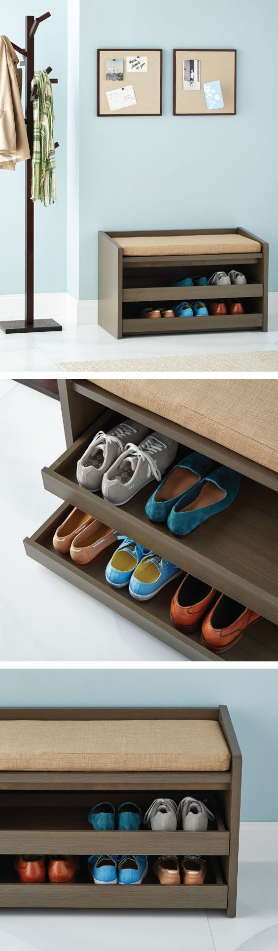 Shoe arrangement can be nuisance especially when