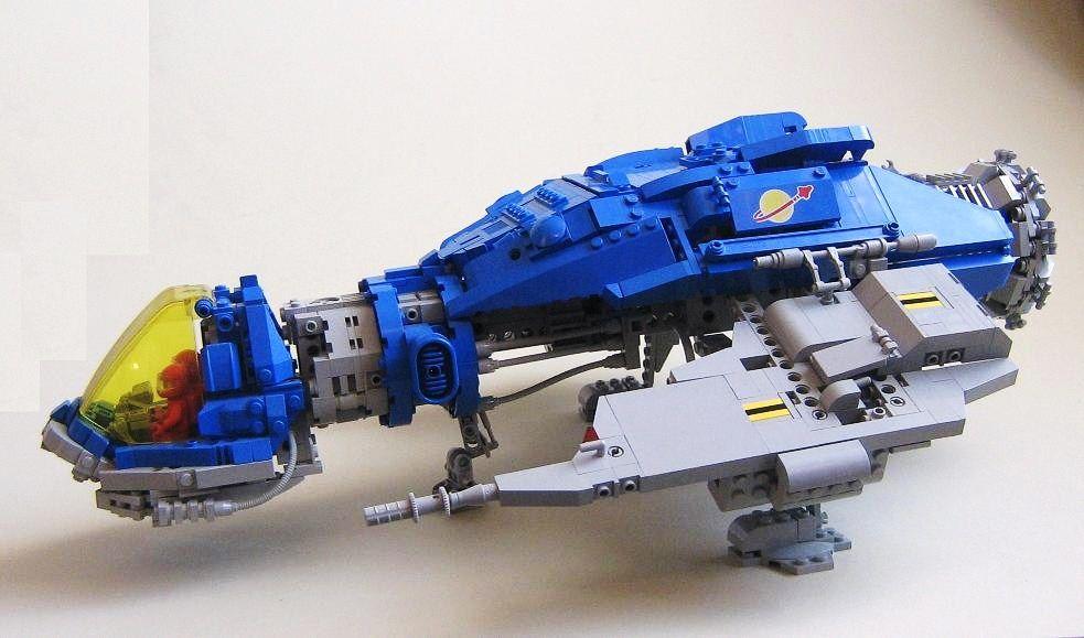 LEGO MOC   LL-137 Blue Canary #classic #space