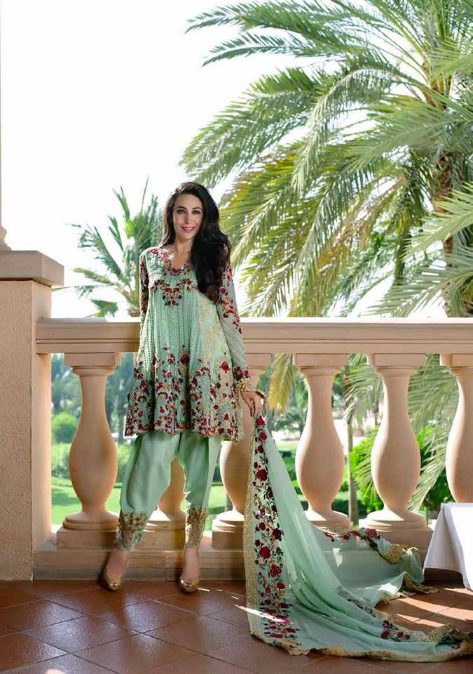 Pakistani Embroidery Dresses Designs