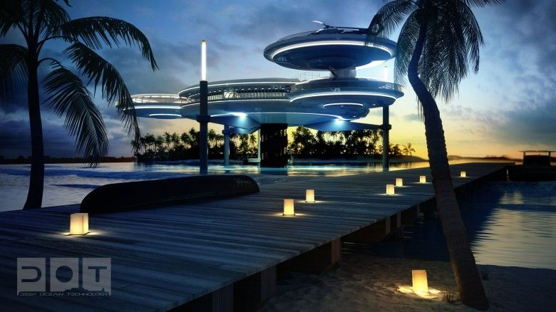 Passion For Luxury: Underwater Hotel Planned in Dubai