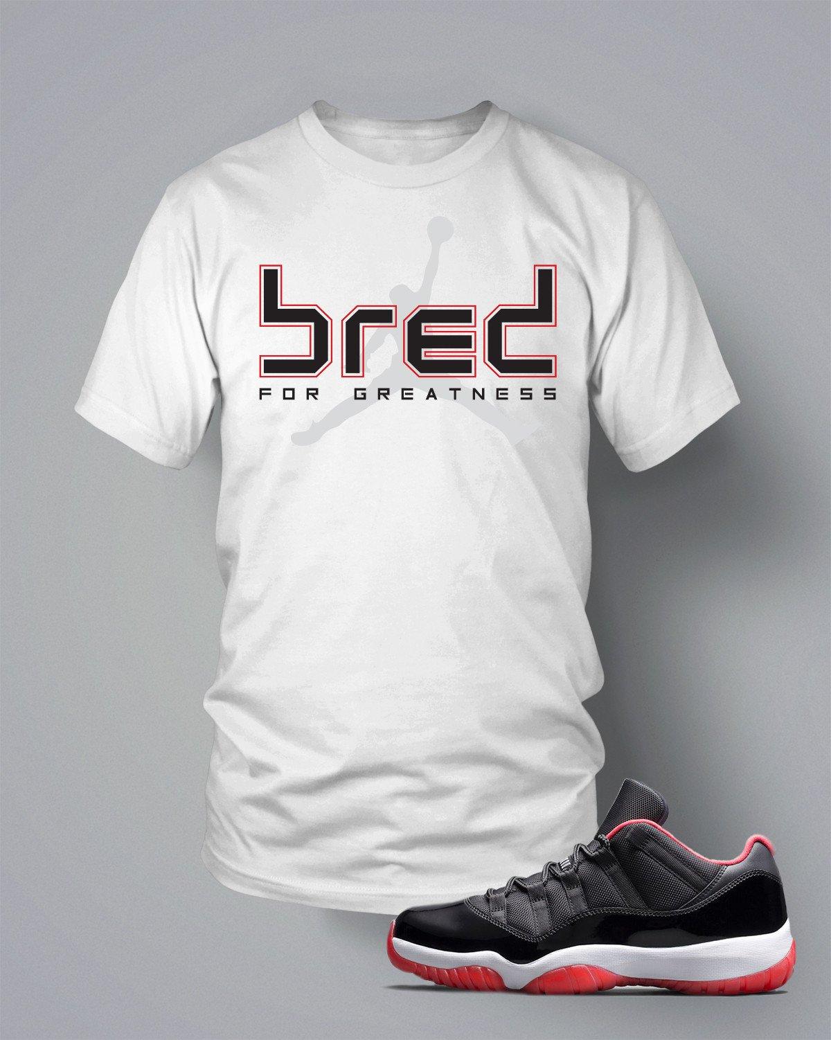 82b5bcac560 T Shirt To Match Retro Air Jordan 11 Bred Shoe Custom Mens Tee Design  Sizing S M L XL XL-Tall 2XL 2XL-Tall 3XL 3XL-Tall LENGTH 28