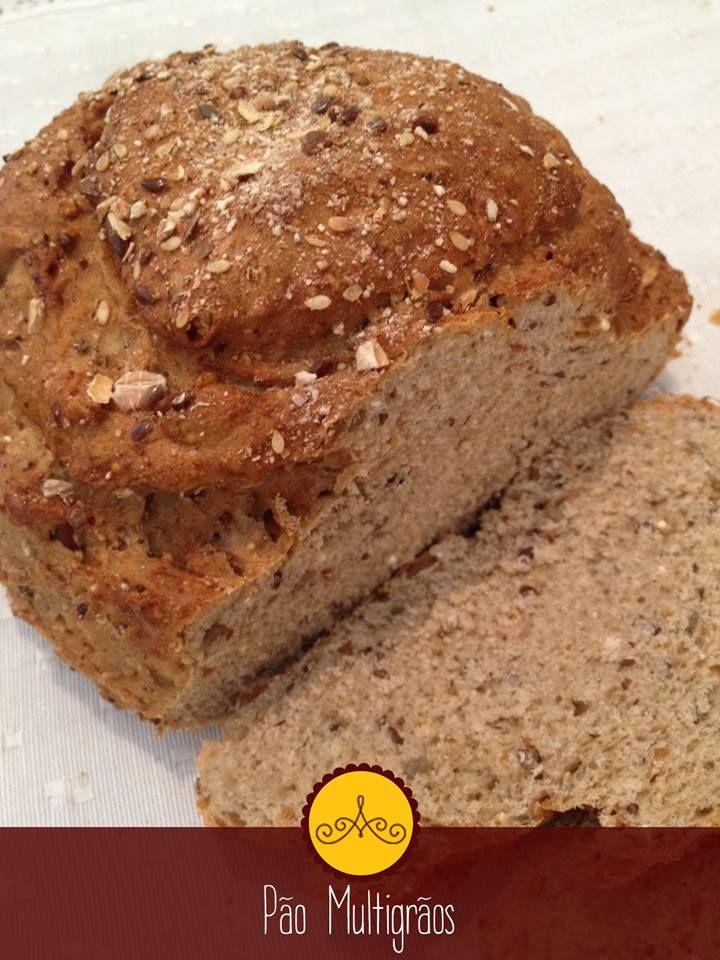 Pão multigrãos!