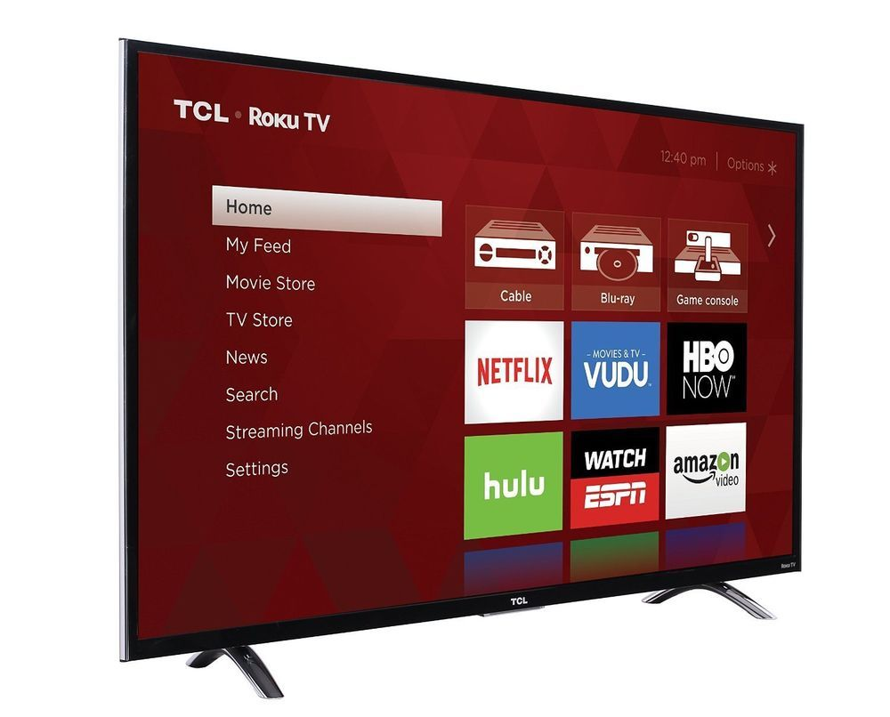 Tcl Roku 43 1080p 120hz Led Smart Tv W 3000 Streaminng Channels Wifi 3 Hdmi Led Tv Walmart Tv Smart Tv