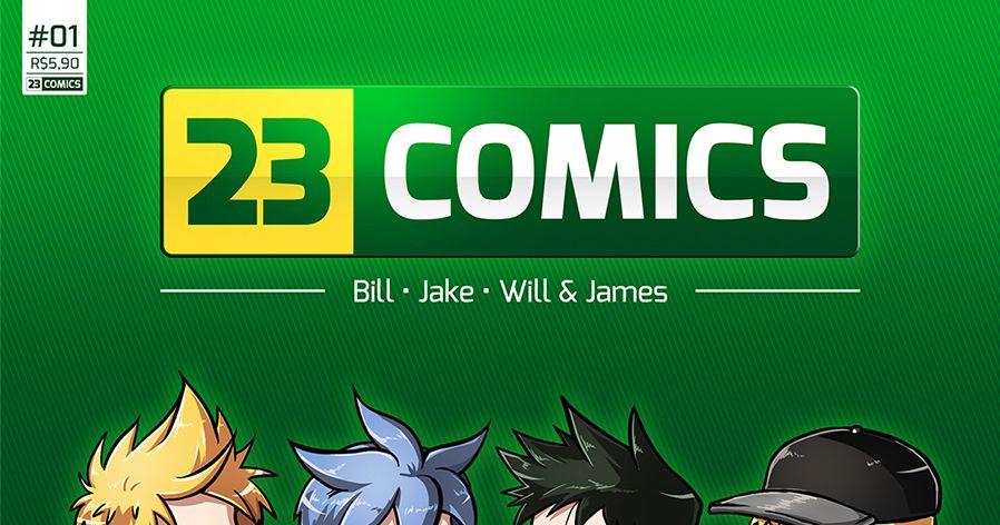 23 Comics » Book de Tirinhas #01