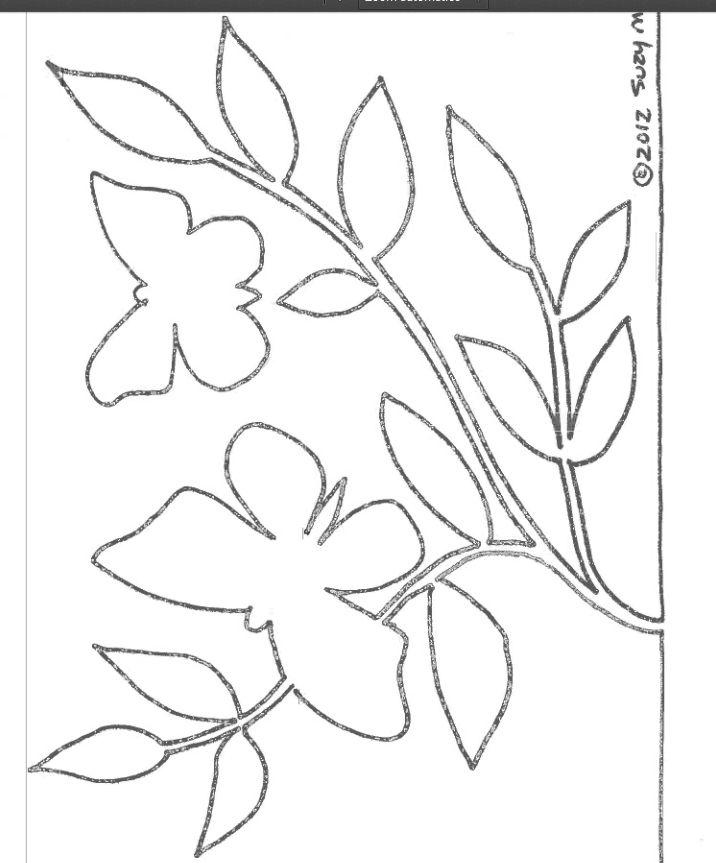 desenho-molde-quadro-com-folhas-revistas