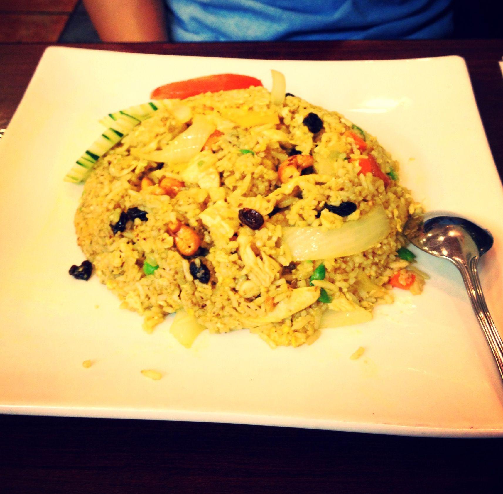 Thai food: Pineapple Fried Rice