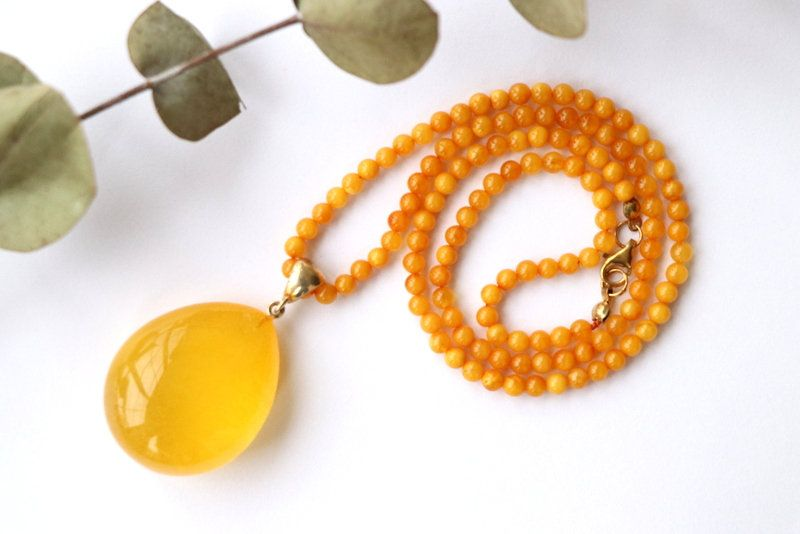 Pin On Amber Necklaces