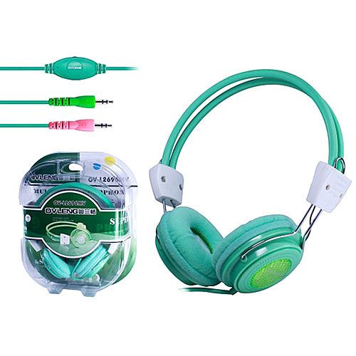 7188be2410af Computer Headphones Colorful With Mic and Volume Control