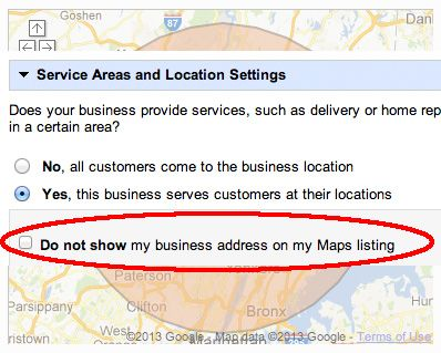 Google Maps Bug Won T Hide Your Address Map Search Engine