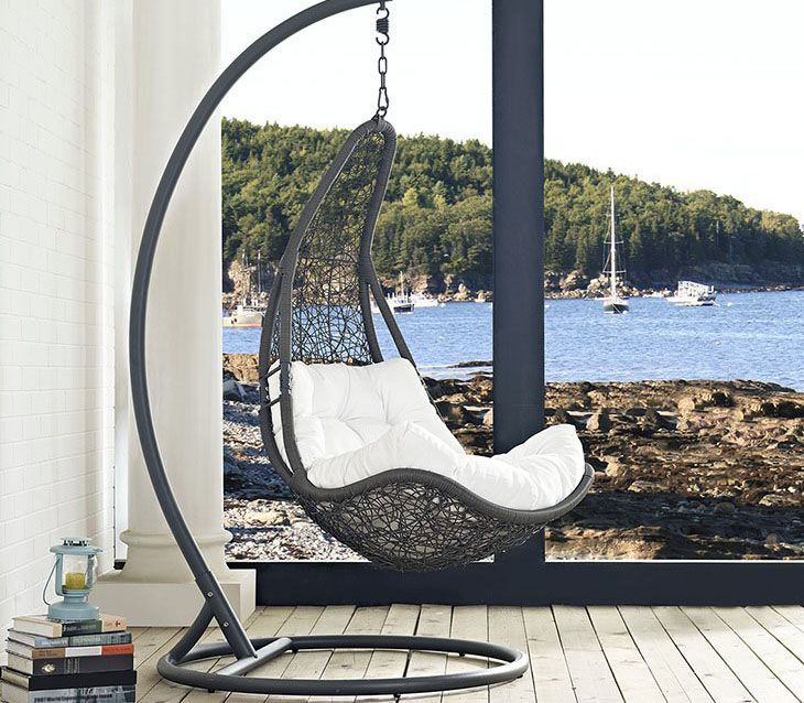 20 Cool Hanging Chairs For The Bedroom. Outdoor Patio SwingIndoor ...