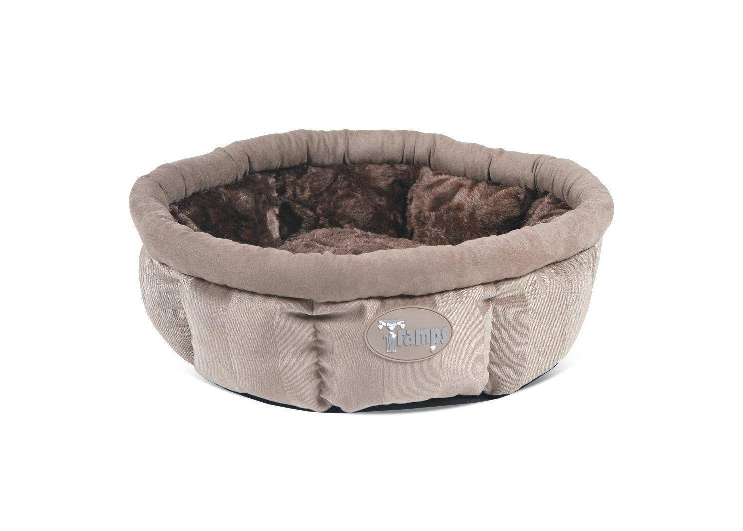 Scruffs Tramps AristoCat Ring Cat Bed, 45 x 45 cm, Tan