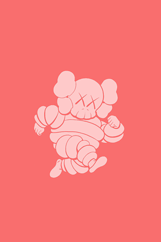 Kaws Iphone X Michelin Man Android Wallpapers Hd In 2019