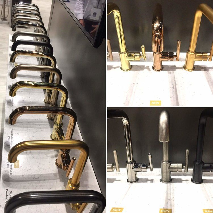Kitchen And Bath Trends AT KBIS 2017 - Color And Finishes   Faucet ...